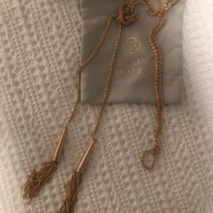 Kendra Scott Rose Gold Phara Necklace NEW w/o tags